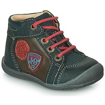 鞋子 男孩 短筒靴 Catimini REGLISSE 绿色 / 棕色