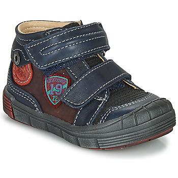 鞋子 男孩 短筒靴 Catimini ROMARIN 海蓝色 / 波尔多红