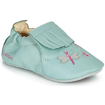 鞋子 女孩 拖鞋 Catimini RHIZINE 蓝色