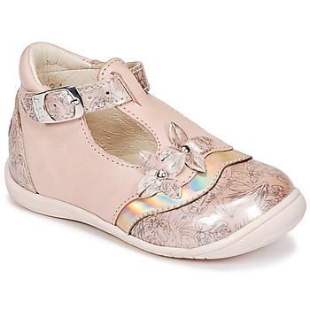 鞋子 女孩 平底鞋 GBB SELVINA 玫瑰色