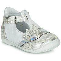 鞋子 女孩 平底鞋 GBB SELVINA 白色 / 银灰色