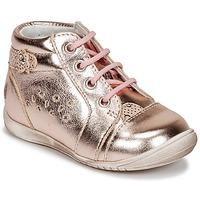 鞋子 女孩 球鞋基本款 GBB SIDONIE 玫瑰色 / 金色