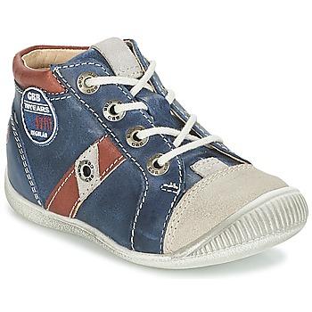 鞋子 男孩 球鞋基本款 GBB SILVIO 海蓝色 / 棕色