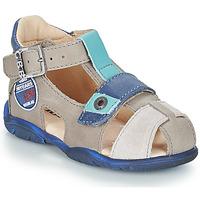 鞋子 男孩 凉鞋 GBB SULLIVAN 灰色 / 蓝色
