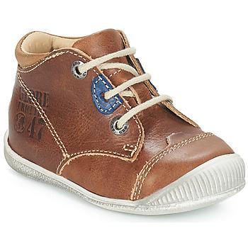 鞋子 男孩 短筒靴 GBB SAMUEL 棕色