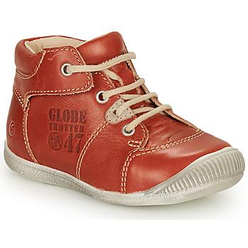 鞋子 男孩 短筒靴 GBB SIMEON 棕色