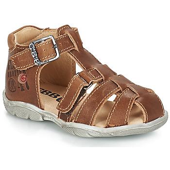 鞋子 男孩 凉鞋 GBB PRIGENT 棕色