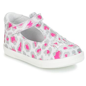 鞋子 女孩 平底鞋 GBB SABRINA 灰色 / 玫瑰色 / 白色