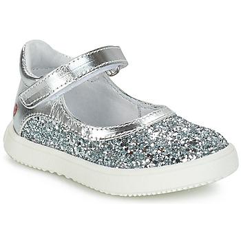 鞋子 女孩 短筒靴 GBB SAKURA 银灰色