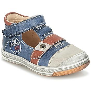 鞋子 男孩 凉鞋 GBB SOREL 海蓝色 / 棕色
