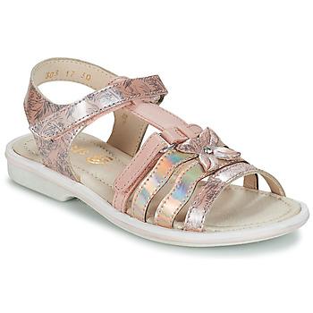 鞋子 女孩 涼鞋 GBB SCARLET 玫瑰色