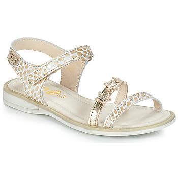 鞋子 女孩 凉鞋 GBB SWAN 白色 / 金色
