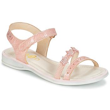 鞋子 女孩 凉鞋 GBB SWAN 玫瑰色