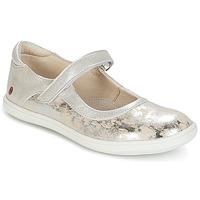 鞋子 女孩 平底鞋 GBB PLACIDA 米色 / 银色