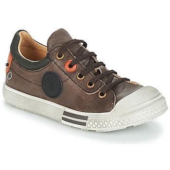 鞋子 男孩 短筒靴 GBB UGO 棕色