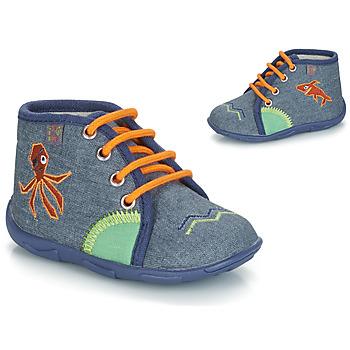 鞋子 男孩 拖鞋 GBB PABLITO 海蓝色