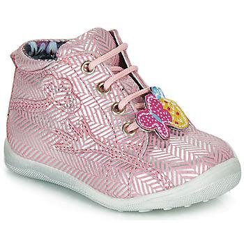 鞋子 女孩 短筒靴 Catimini SALAMANDRE 玫瑰色