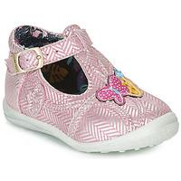 鞋子 女孩 平底鞋 Catimini SOLEIL 玫瑰色