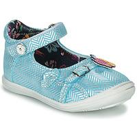 鞋子 女孩 平底鞋 Catimini SITELLE 藍色 / 銀灰色