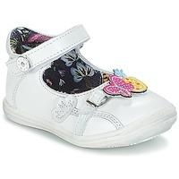 鞋子 女孩 平底鞋 Catimini SITELLE 白色