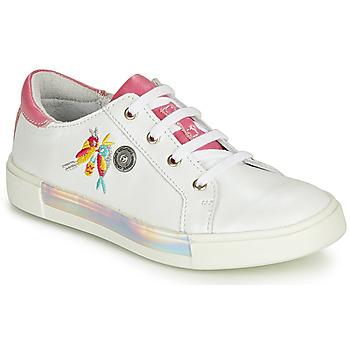 鞋子 女孩 球鞋基本款 Catimini SYLPHE 白色