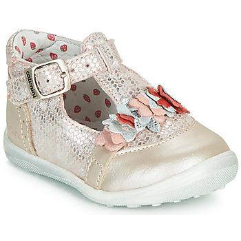 鞋子 女孩 平底鞋 Catimini SALICORNE 玫瑰色