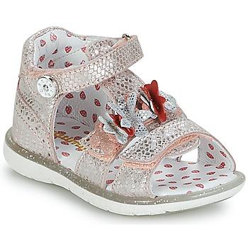 鞋子 女孩 凉鞋 Catimini STEVIA 玫瑰色