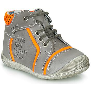 鞋子 男孩 短筒靴 Catimini SEREVAL 灰色 / 橙色