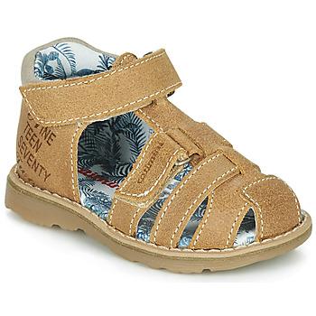 鞋子 男孩 凉鞋 Catimini SYCOMORE 棕色
