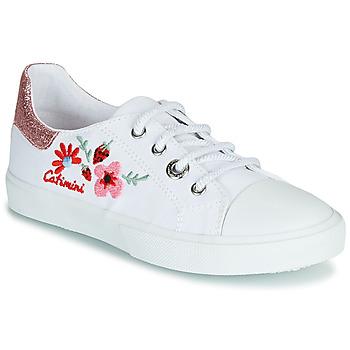 鞋子 女孩 球鞋基本款 Catimini SAXIFAGE 白色