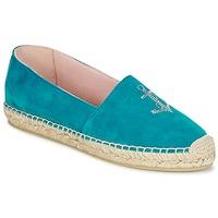 鞋子 女士 帆布便鞋 Pretty Ballerinas ANGELIS 松石绿