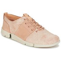 鞋子 女士 球鞋基本款 Clarks 其乐 TRI CAITLIN 玫瑰色