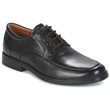 鞋子 男士 德比 Clarks 其乐 UN ALDRIC PARK 黑色