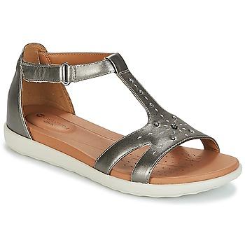 鞋子 女士 凉鞋 Clarks 其乐 UN REISEL MARA 银灰色