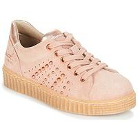 鞋子 女孩 球鞋基本款 Bullboxer AIB006 玫瑰色