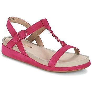 鞋子 女士 凉鞋 Hush puppies 暇步士 CHAIN T 覆盆子红