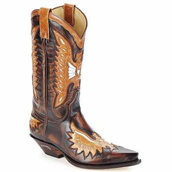 鞋子 男士 都市靴 Sendra boots CHELY 棕色