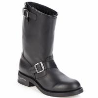鞋子 男士 短筒靴 Sendra boots OWEN 黑色