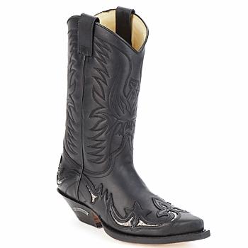 鞋子 都市靴 Sendra boots CLIFF 黑色