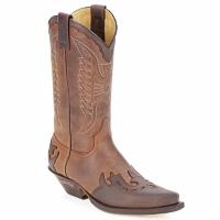 鞋子 都市靴 Sendra boots DAVIS 棕色