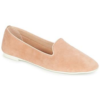 鞋子 女士 皮便鞋 Buffalo YOYOLO 玫瑰色