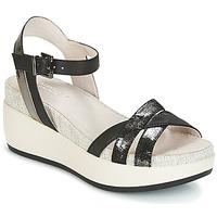 鞋子 女士 凉鞋 Lumberjack BLANCHE 黑色 / 银色