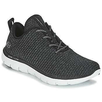 鞋子 女士 球鞋基本款 Skechers 斯凯奇 FLEX APPEAL 2.0 黑色