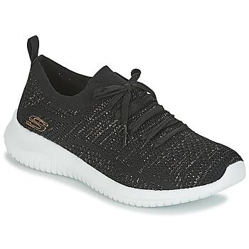 鞋子 女士 球鞋基本款 Skechers 斯凯奇 ULTRA FLEX 黑色