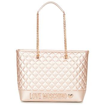 包 女士 购物袋 Love Moschino JC4003PP15 玫瑰色 / 金色