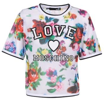 衣服 女士 女士上衣/罩衫 Love Moschino W4G2801 白色 / 多彩
