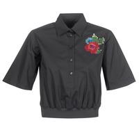 衣服 女士 衬衣/长袖衬衫 Love Moschino WCC5401 黑色