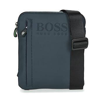 包 男士 小挎包 Hugo Boss Green HYPER T S ZIP 海蓝色 / 白色