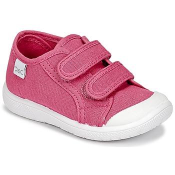 鞋子 女孩 球鞋基本款 Citrouille et Compagnie GLASSIA 玫瑰色