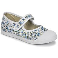 鞋子 女孩 平底鞋 Citrouille et Compagnie APSUT 蓝色 / 白色